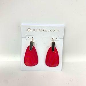 Kendra Scott Jewelry - Kendra Scott Marty Pink Stone Earrings